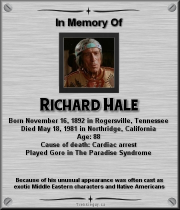 Richard Hale