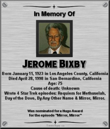 Jerome Bixby