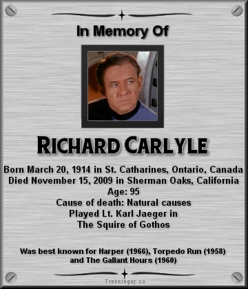 Richard Carlyle